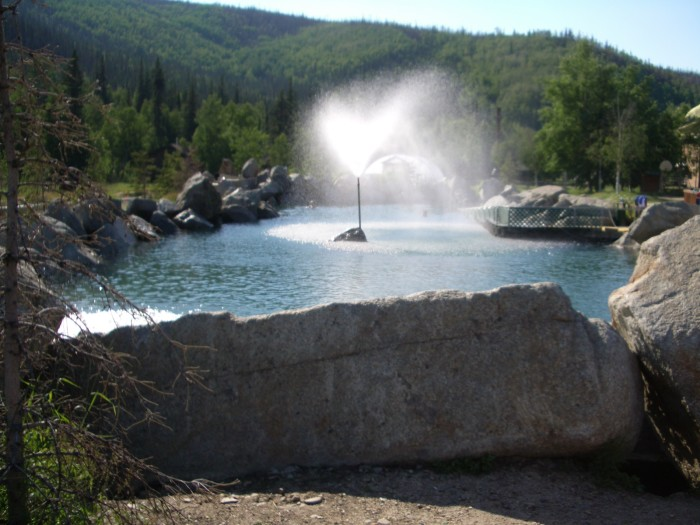 12. Soak In Natural Hot Springs At Chena Resort