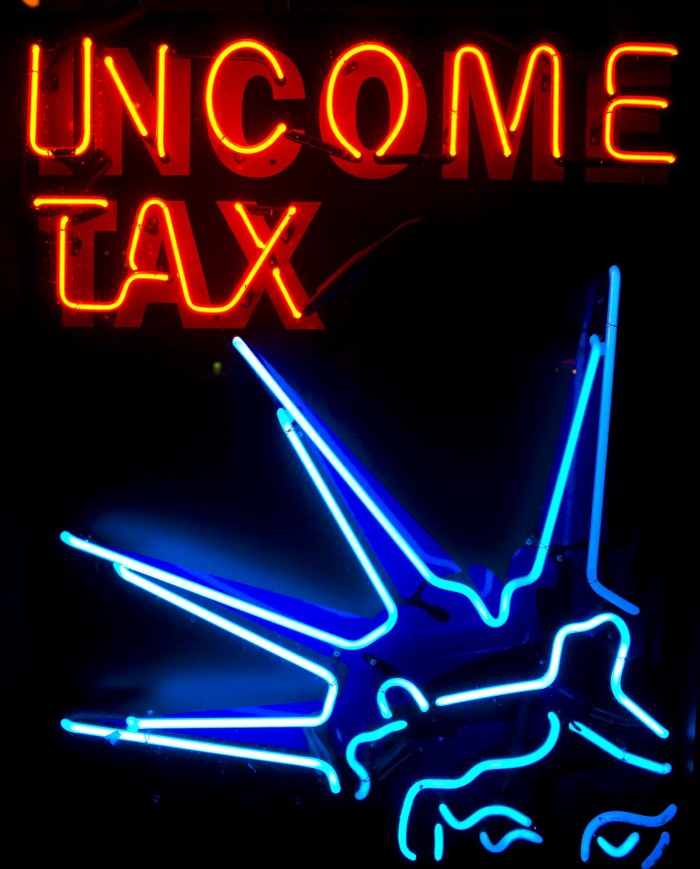 Income Tax Neon