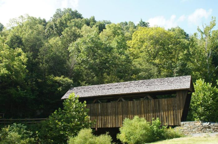 7. Indian Creek Covered Bridge, Union