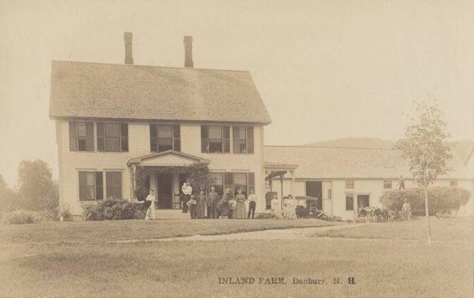 15. This farm in Danbury shows what life was like for well-off New Hampshire residents in 1916.