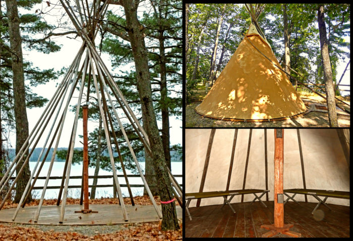 4. Rent a teepee.