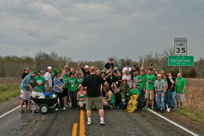 10. Irish Road Bowling!