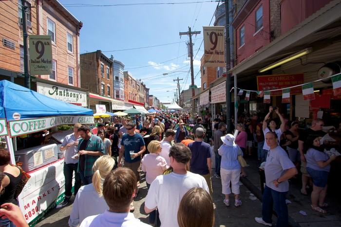 5. The 9th Street Italian Market Festival (Philadelphia)