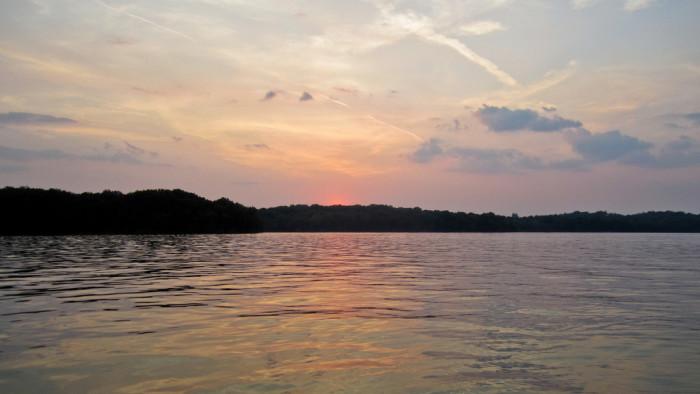 2. J. Percy Priest Lake