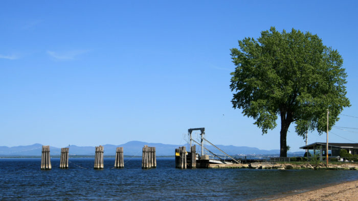 8. Enjoy New York's side of Lake Champlain for some magnificent photos of the water.