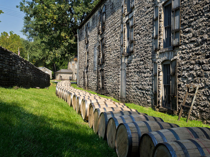 11. Labrot and Grahm's Old Oscar Pepper Distillery, Woodford Reserve in Versailles