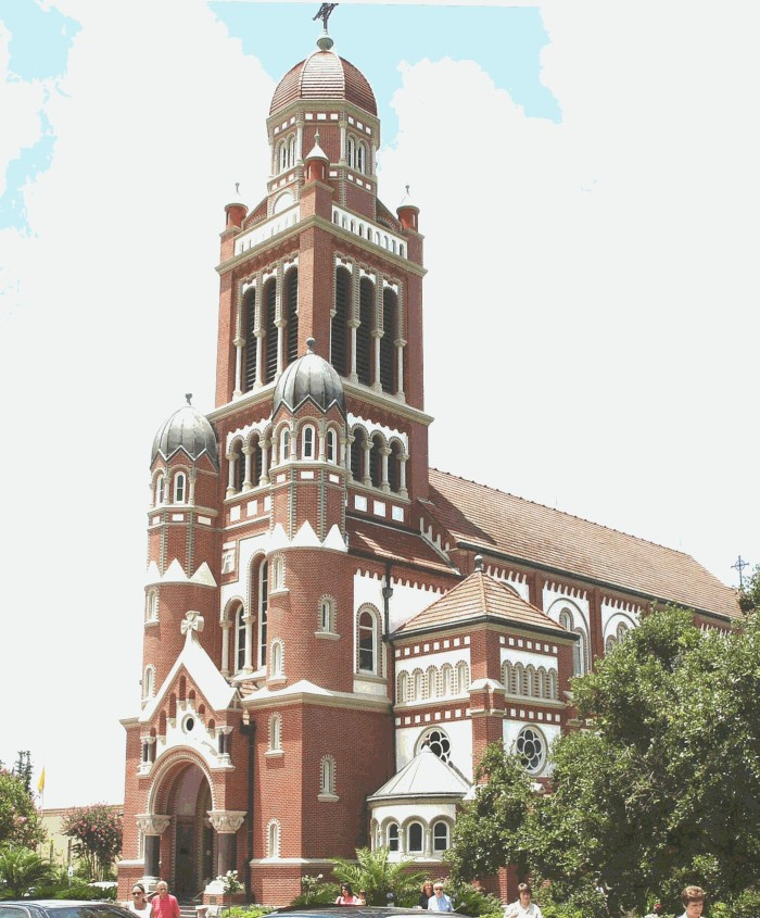 11. St. John's Cathedral, 914 St. John Street, Lafayette, LA