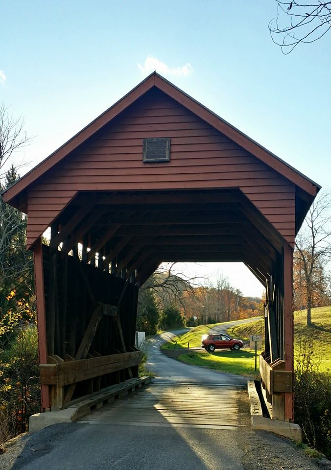6. Laurel Creek Covered Bridge, Lillydale