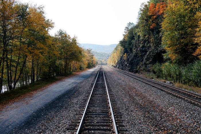 1. Lehigh Gorge Scenic Railway