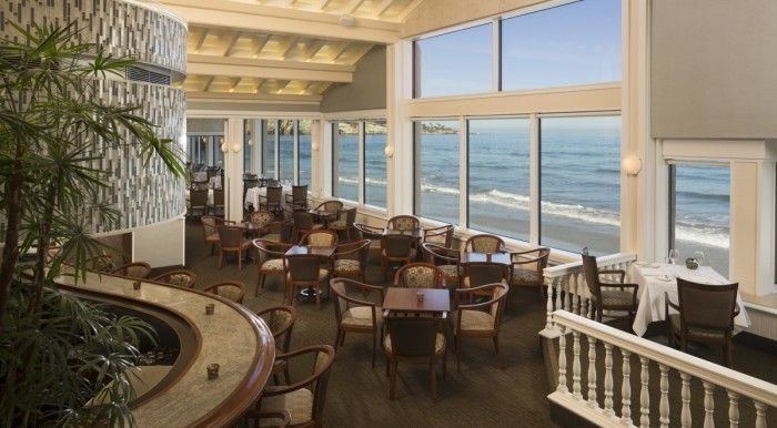 7. The Marine Room in La Jolla is THE spot to splurge for a special occasion. An elegant space, award-winning cuisine, and a spot right on the water that simply can't be beat makes this waterfront restaurant unforgettable.