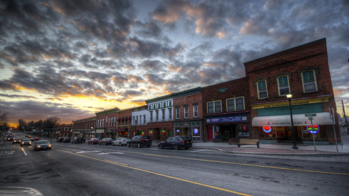 18. Small town charm.