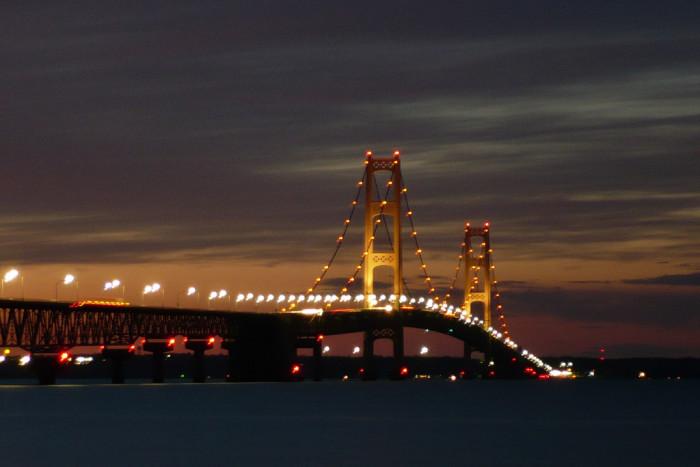 1. Mackinac Bridge