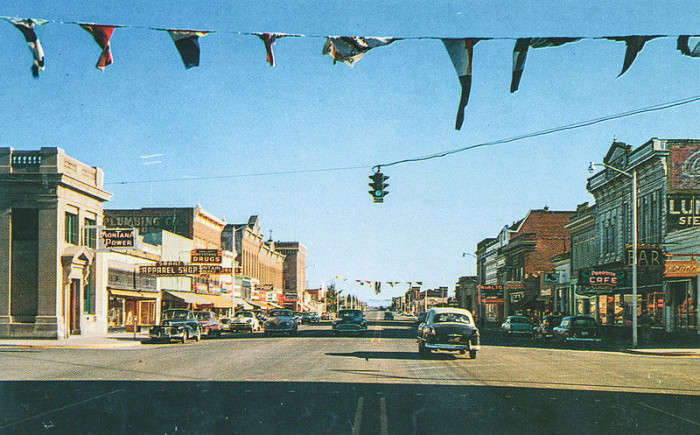 these 8 photos of montana in the 1950s are mesmerizing