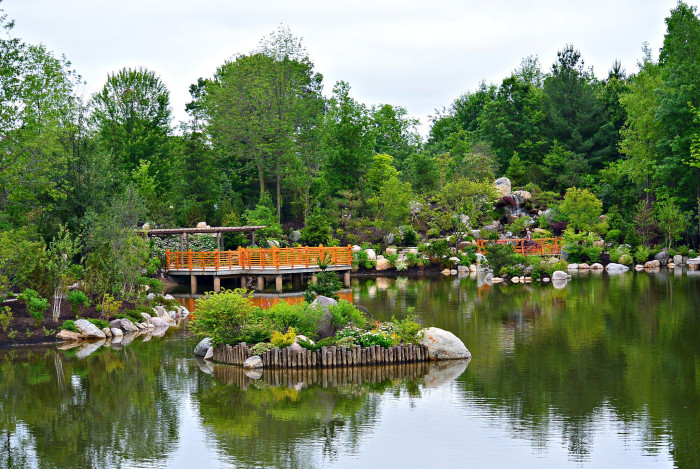 12 of the most impressive man made wonders in michigan - Frederik meijer gardens and sculpture park ...