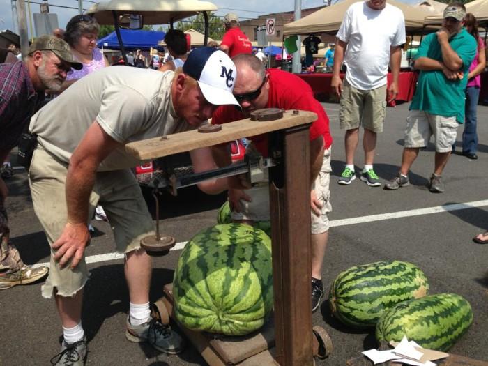 5. Monroe County Watermelon Festival