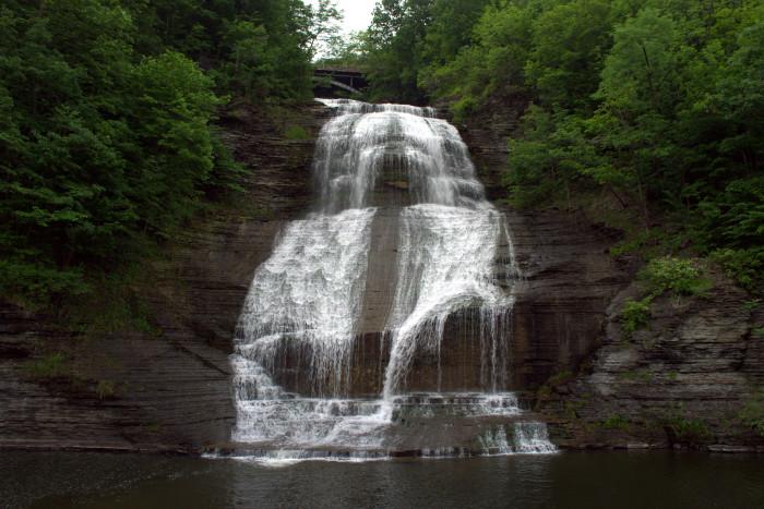 7. She-Qua-Ga Falls, Montour Falls