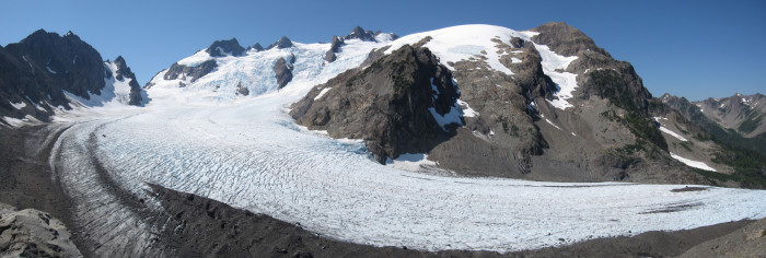 4. There are 60 named glaciers on the peaks of the Olympics...
