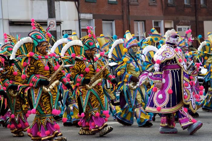 11. Mummers Parade (Philadelphia)