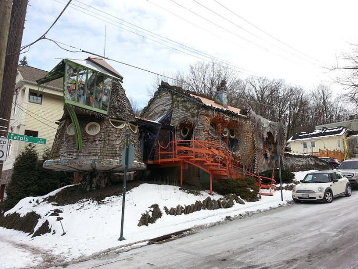10. The Mushroom House, Ohio