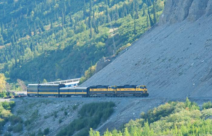3. Glaciers, Rails and Trails