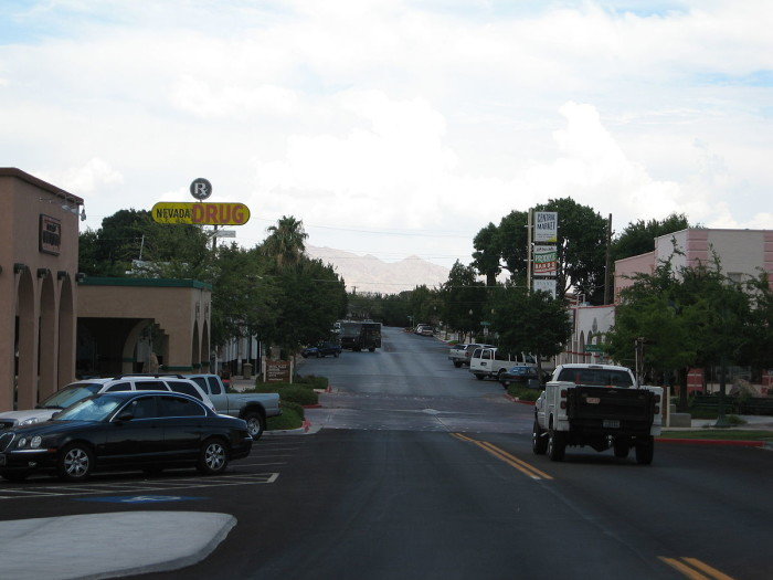 2. Nevada's Boulder City is a charming, quiet community.