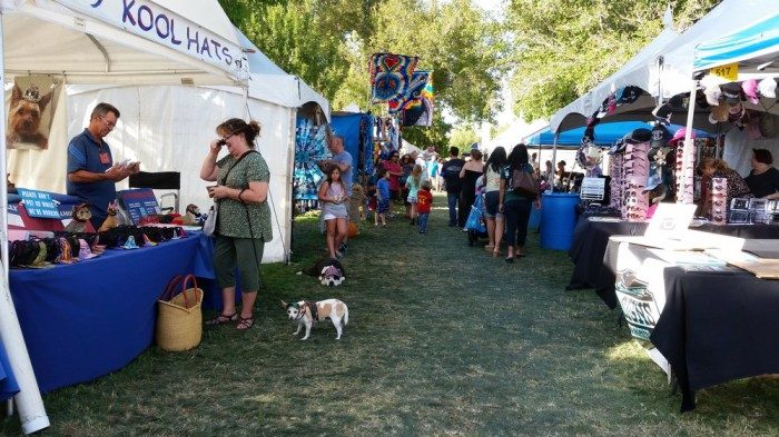 "6. Nevada's Boulder City hosts many  unique fairs and festivals, including the city's most popular festival ""Art in the Park."""