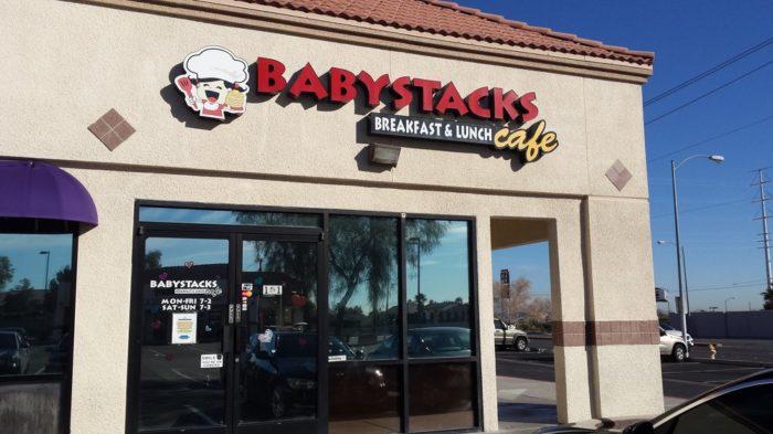 8. BabyStacks Cafe - Las Vegas