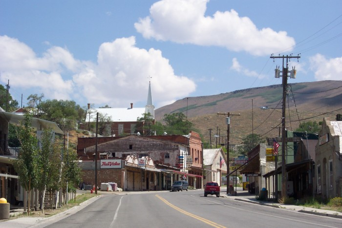 7. There's a great combination of small towns and...