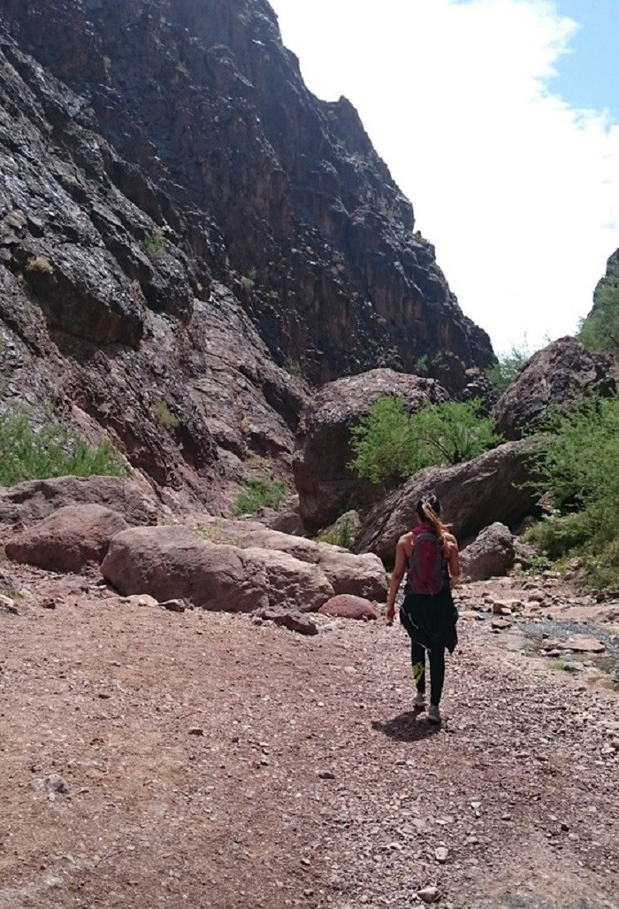 6. Gold Strike Canyon Hot Springs Trail - 4.5 Miles