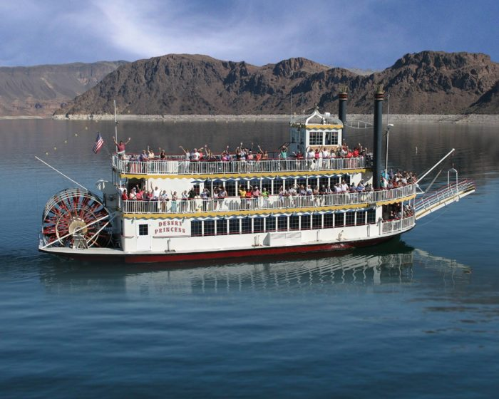 9. Take a scenic cruise on Lake Mead.