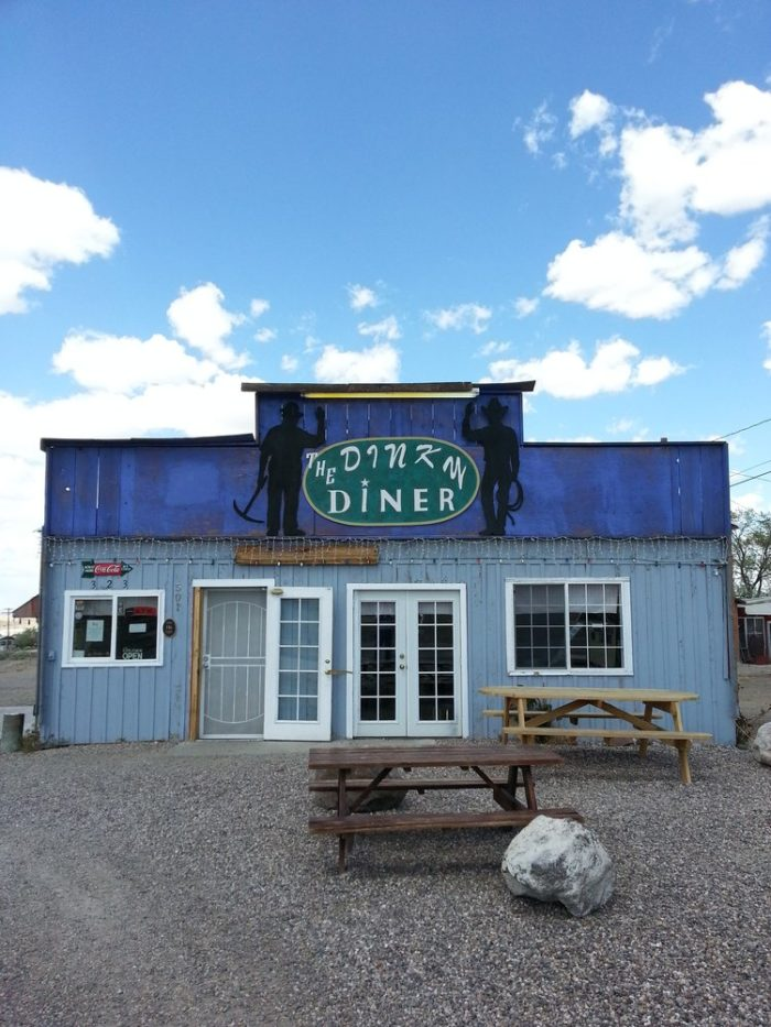 11. The Dinky Diner - Goldfield