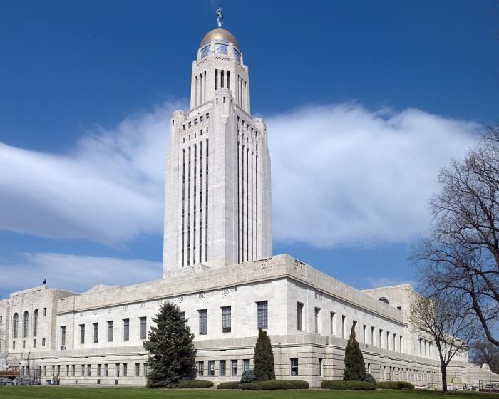7. Nebraska State Capitol Building, Lincoln
