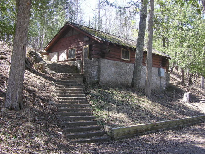 6. Book a cabin at a state park...