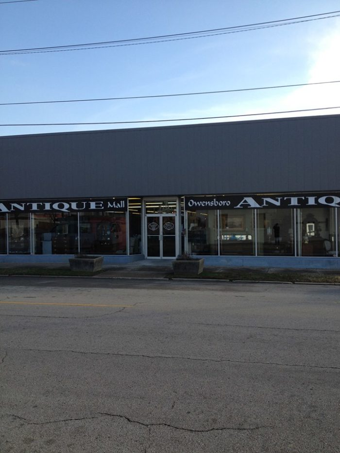 Owensboro Antique Mall at 500 W 3rd Street: