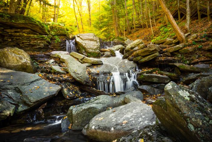 Pine Creek Turkey Path Waterfalls