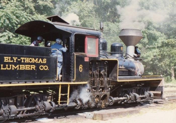 3. Pine Creek Railroad, Allaire State Park