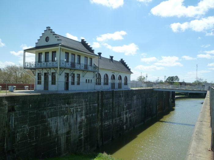 7. Plaquemine Lock State Historic Site, Plaquemine