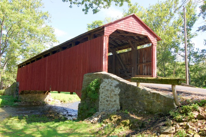 5. We're pretty serious about our bridges; we have the Number One most covered bridges in the country...as well as the Number One oldest covered bridge!