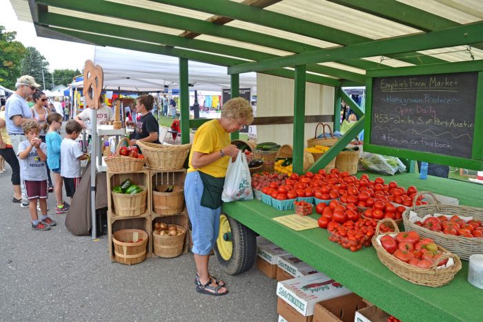 3. One of the largest farmers markets in the state.