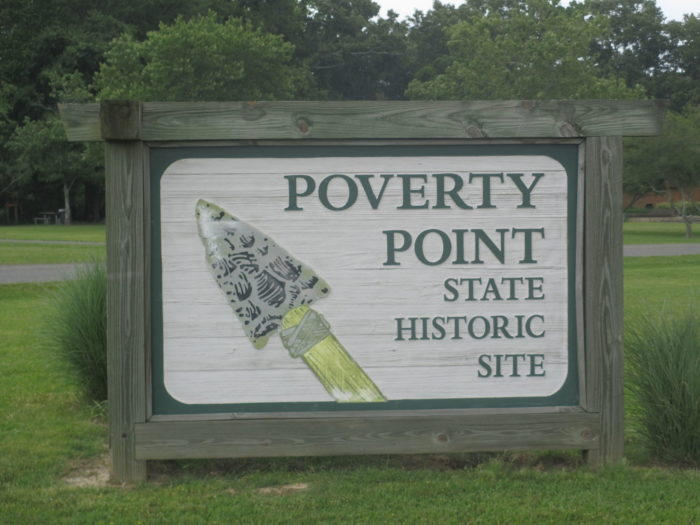 Poverty Point became a UNESCO world heritage site in 2014.