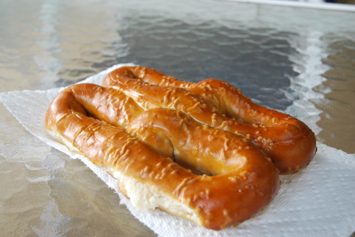 6. We are Number One in pretzel consumption