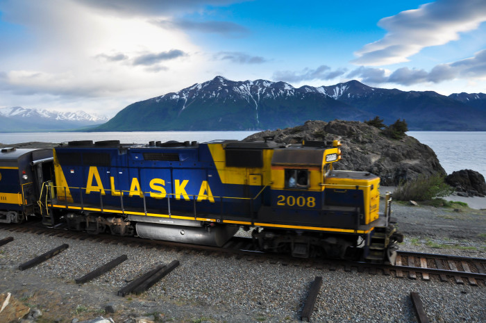 17. Ride The Alaska Railroad