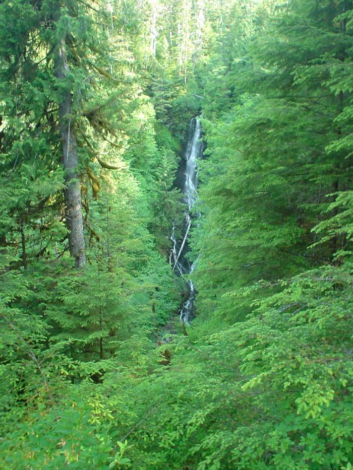 3. Rainbow Falls – Wrangell