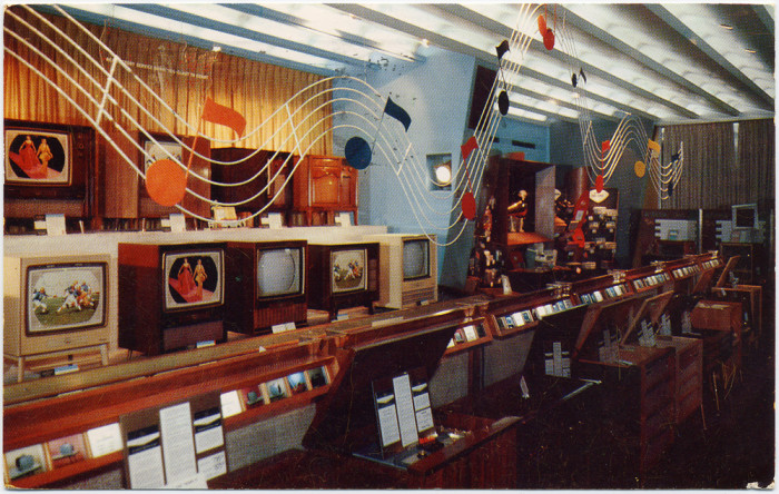 4. Radio City's RCA Exhibition Hall in 1958.