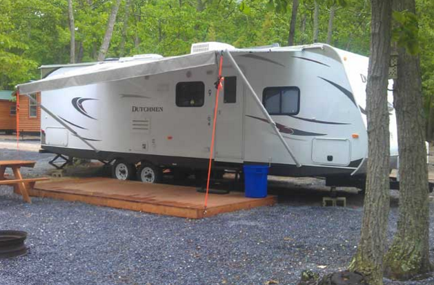 Premium RV rentals are also available with similar amenities.