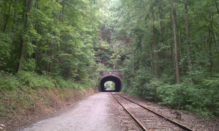 20. We USED to have the Number One most miles of railroad track...and now we have the Number One most successful Rails-To-Trails developments!