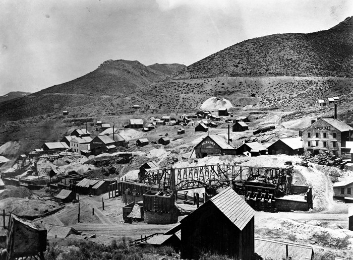 7. The richest silver deposit in American history was discovered here in Nevada on the Comstock Lode.