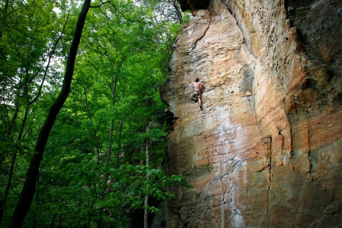 Red River Gorge. fenwick