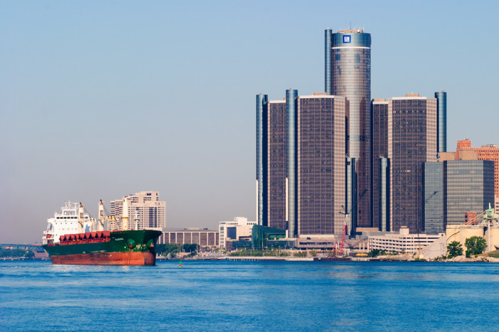 5. Renaissance Center, Detroit