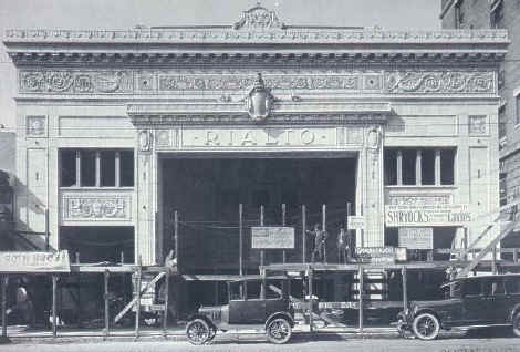 1. The renowned Rialto Theater, which was demolished in 1969.